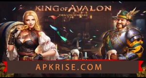 King of Avalon Mod APK v11.6.0 [Unlimited Gold + Money + Shields] 2