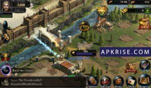 King of Avalon Mod APK v11.6.0 [Unlimited Gold + Money + Shields] 4